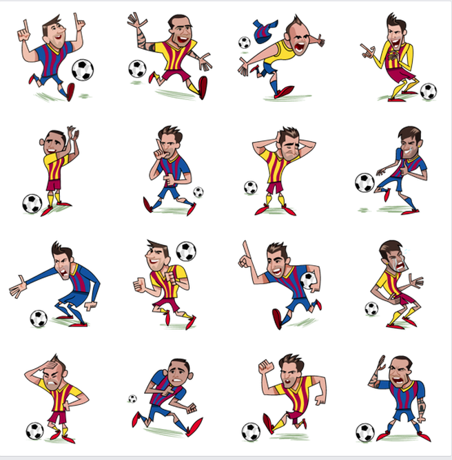 Fc Barcelona Stickers.Fc Barcelona Facebook Sticker Medialogist Barca Is