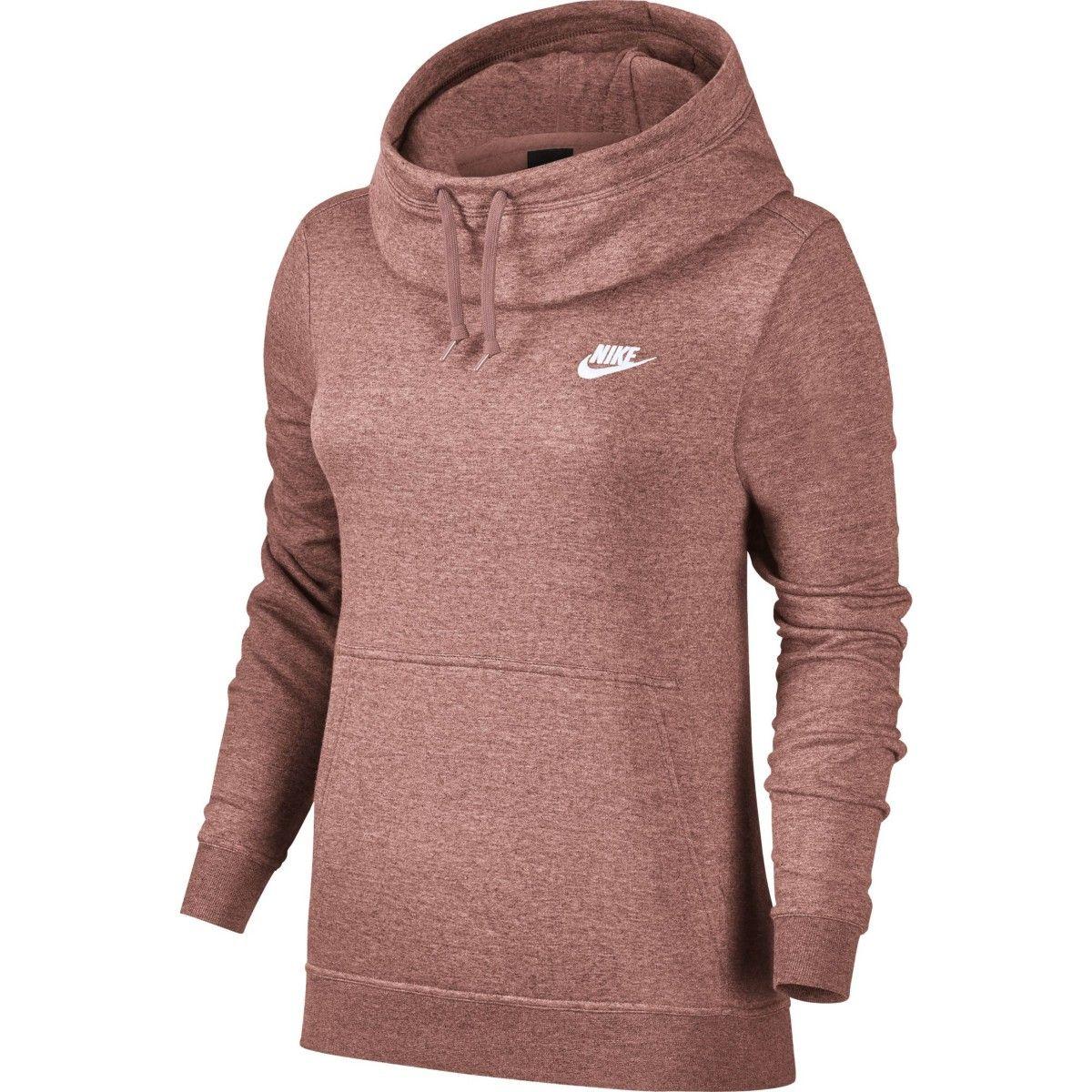 Pin By Women Workout Clothes On Clothes Funnel Neck Hoodie Nike Sportswear Women Sportswear Women [ 1200 x 1200 Pixel ]