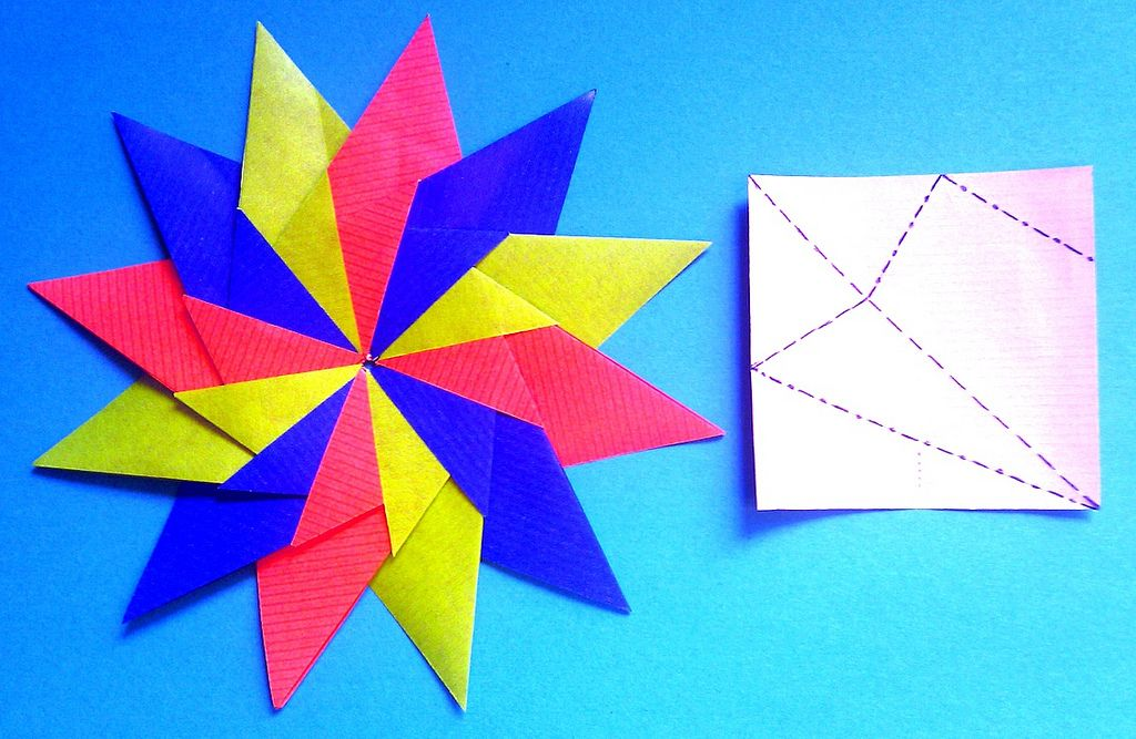 Mixing 45 And 60 Valley Fold Angels Adding Some Mountain Folds