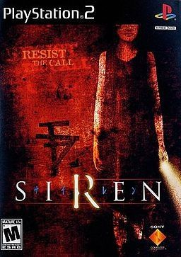 Cover For The Forbidden Siren 1 Horror Video Games Playstation