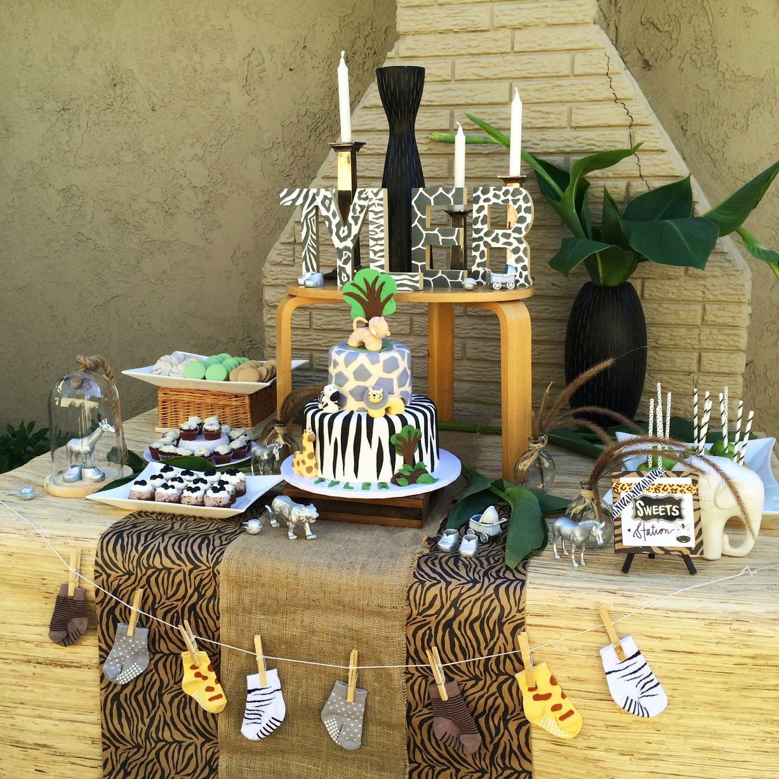 african themed baby shower