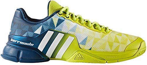 adidas Performance Men's Barricade 2016 Tennis Shoe, Shock Slime ...