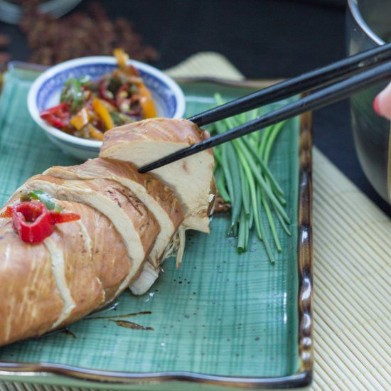 Poached Chicken Yunnan-Style