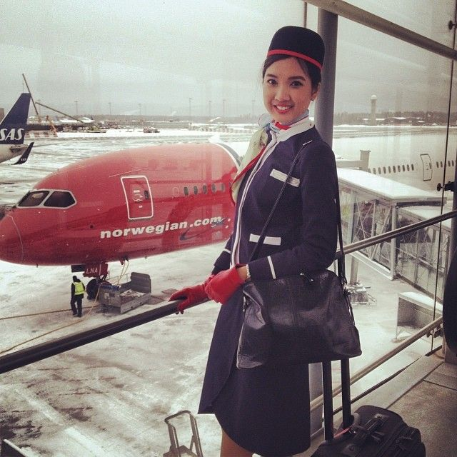 Royaume-Uni disponibilité 50504 f52e7 Norwegian. Photo by Ayakoko | European Airlines Cabin Crews ...