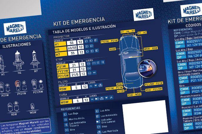 Magneti Marelli / Kit de emergencia / Pack