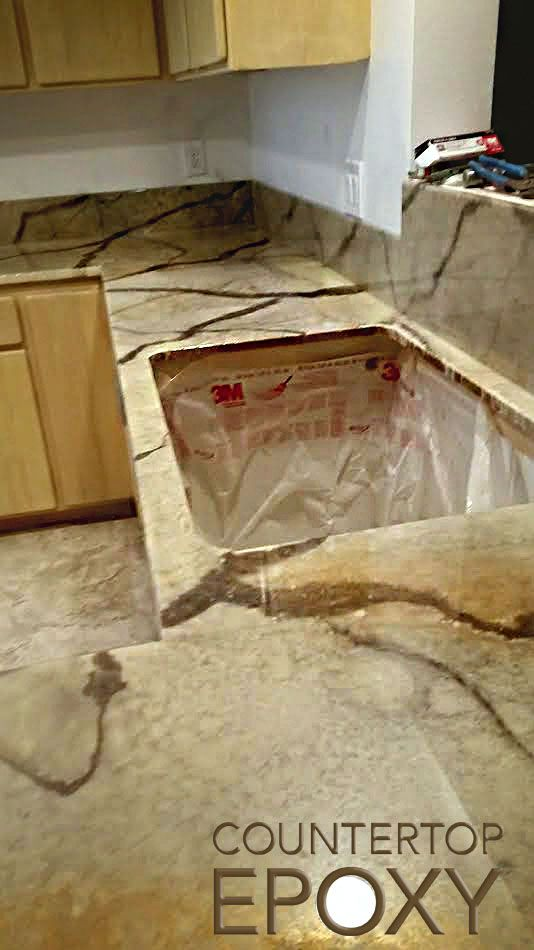 Another custom Countertop Epoxy kitchen done by the Renfros!   Home ...