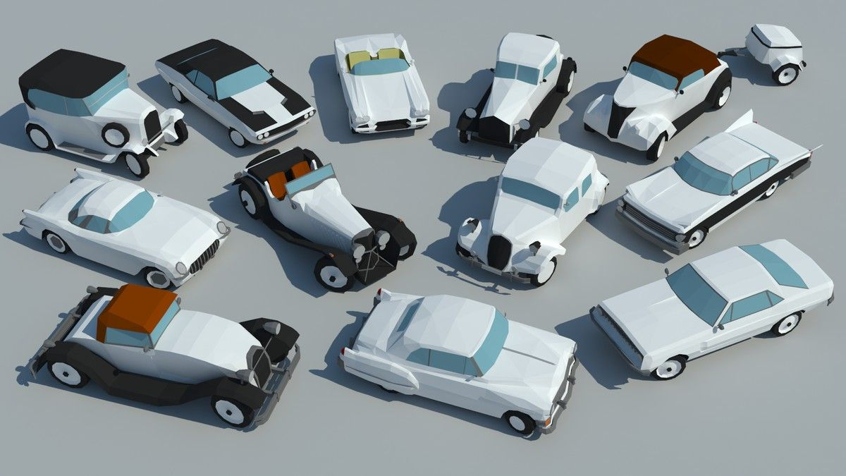 SmallCars - Classic 3D Land Unity Asset Store #Sponsored #, #ADVERTISEMENT, #Classic#SmallCars#Land#Vehicles