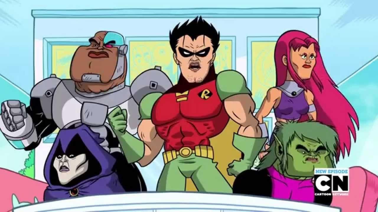Teen Titans Go Season 2 Episode 32 Lets Get Serious -9277