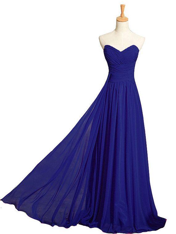 f2357a6ba1 Criss Cross Royal Blue Prom Dresses Sweetheart Elegant ong A-line Women  Formal Evening Bridesmaid Gorgeous Corset Ladies Cheap 2015 New