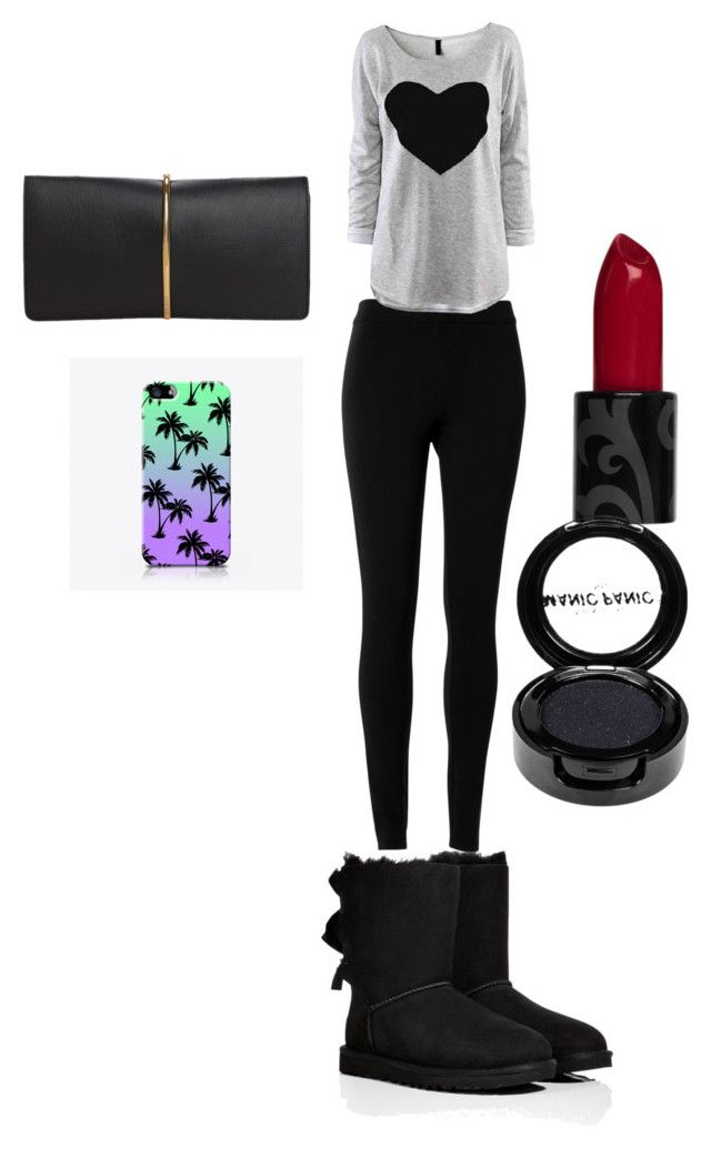 """""""the cool style"""" by jessicacelysse on Polyvore featuring UGG Australia, Max Studio, Nina Ricci and Manic Panic"""