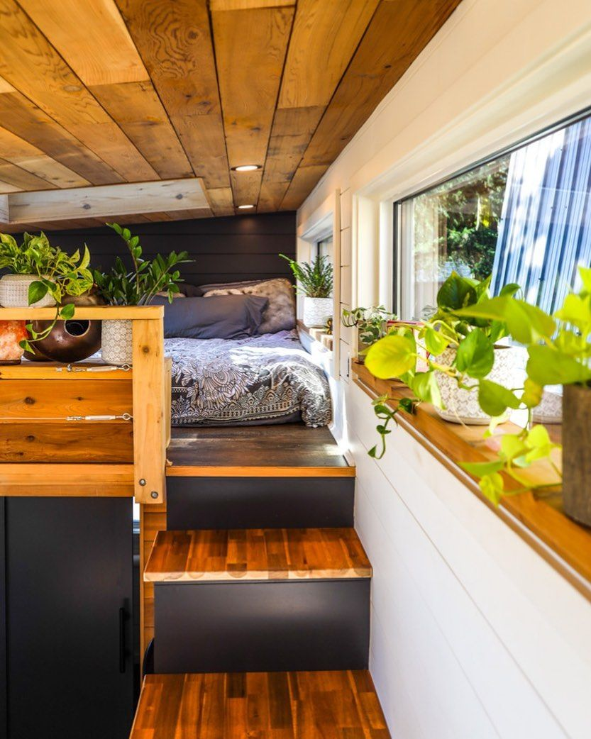 Living Big In A Tiny House On Instagram Make Your Home A Sanctuary Check Out This Beautiful Design In Our L Tiny House Design Tiny Apartments Tiny Spaces