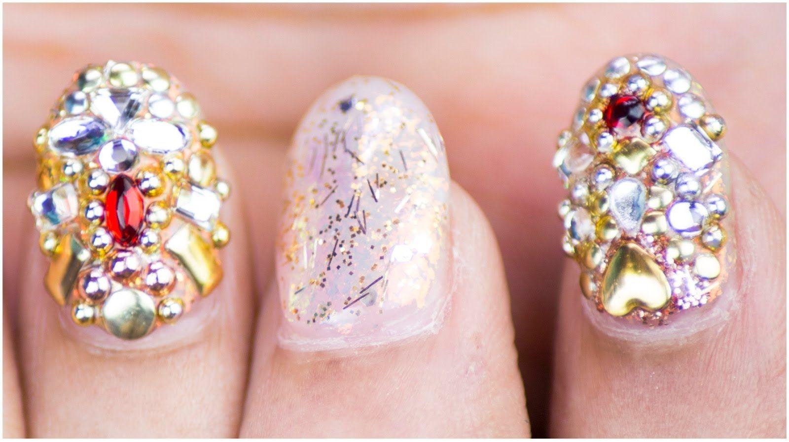 Jewel Nail Art Design | Sonal Sagaraya | #ChipperNails | Nail ...