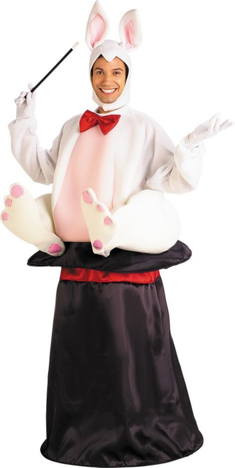 Adult Magic Hat Rabbit Costume - Party City Canada