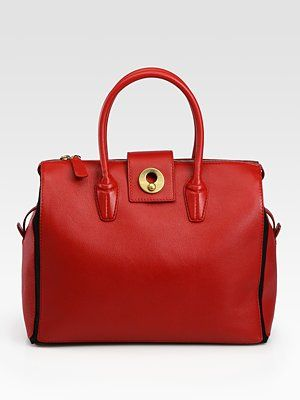 aa901deb3289 Yet another red bag...Yves Saint Laurent - YSL Cabas Muse Two ...