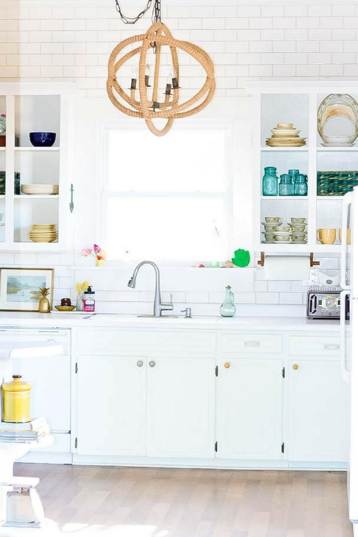 Removing Upper Kitchen Cabinets Inspiration Coastal Farmhouse Kitchen Interior Design Kitchen Upper Kitchen Cabinets