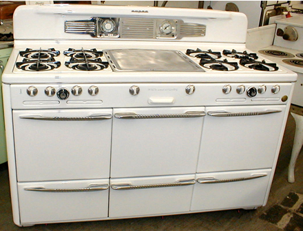 1949 Roper Town And Country Stove From