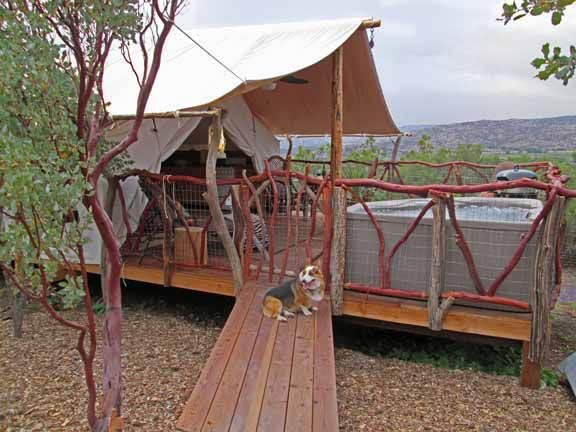 Colorado yurt company handcrafted outfitter and platform for Colorado canvas tent