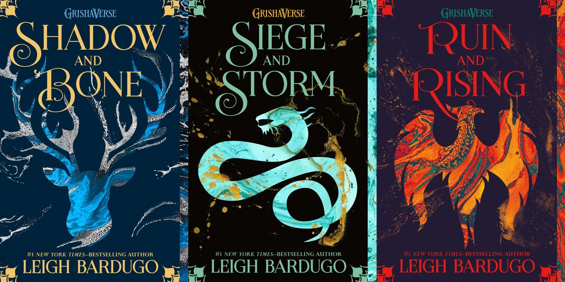 Shadow And Bone Trilogy Paperback By Leigh Bardugo Bone Book Series Bone Books Fantasy Books