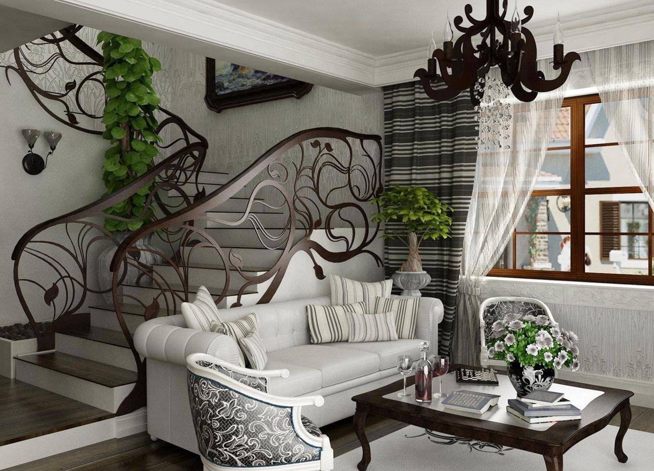 Art Nouveau Interior Design With Its Style, Decor And Colors