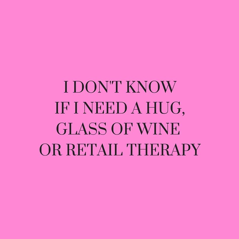 Pin by Miruna Georgiana on Text | Retail therapy quotes ...