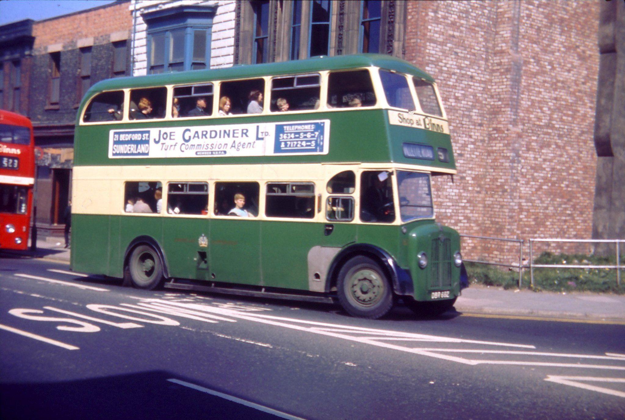 Sunderland Corporation Transport Bus 182 Guy Arab Iv With Crossley Bodywork 1967 In 2020 Bodywork Bus Sunderland