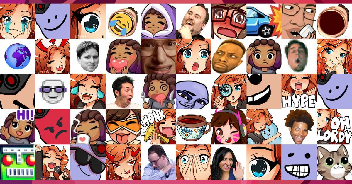 The Uneven Remarkable Economy Of Custom Twitch Emotes Pcgamer No Twitch Chat Is Flooded With The Pogchamp Emote A Small Emoji Like Image That S Part
