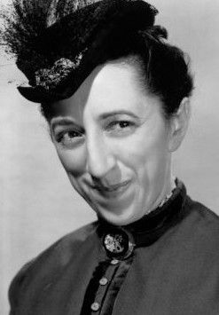 Margaret Hamilton (best known for her role as the Wicked Witch of the West in The Wizard of Oz).