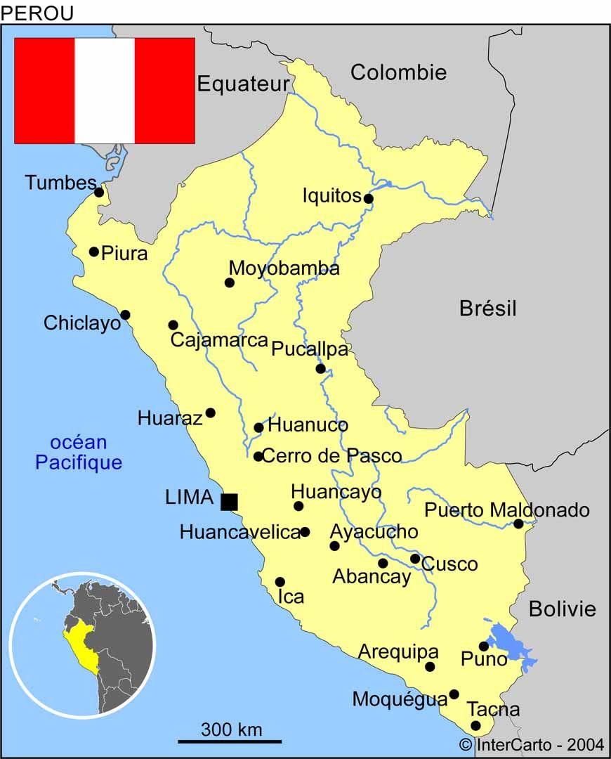 Carte Bresil Relief.Carte Du Pe Voyage Amerique Du Sud Argentine Bolivie Bresil