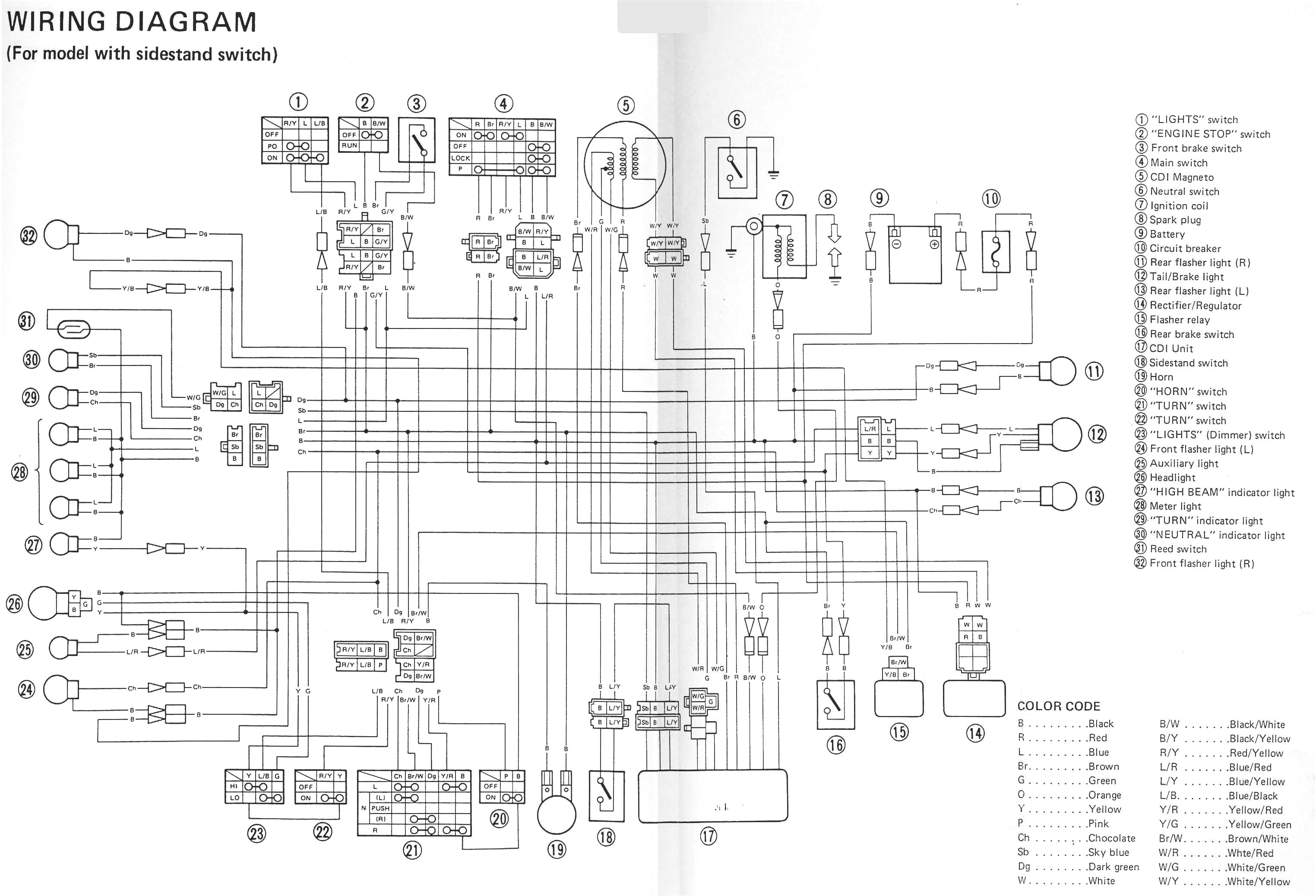 2001 R1 Wiring Diagram 2000 Yamaha And 1999 R6 With Images