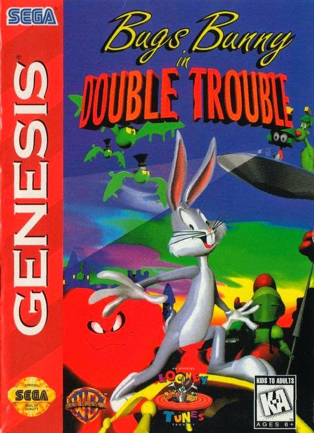 Original Sega Game Gear Video Game Bugs Bunny in Double Trouble