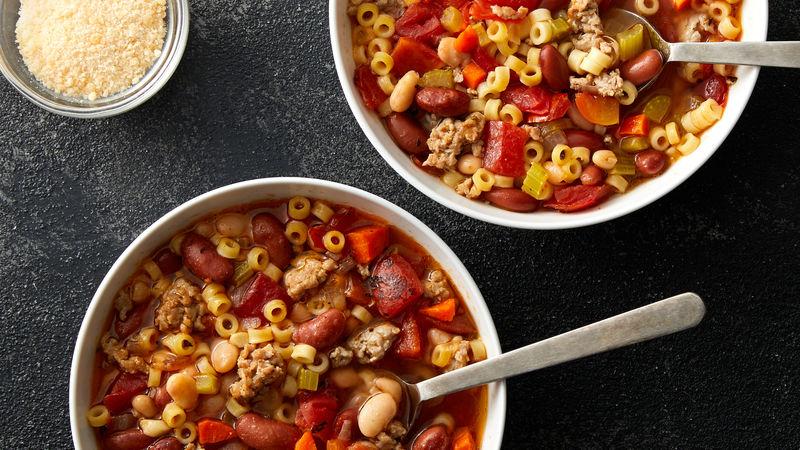 Copycat Olive Garden™ Pasta e Fagioli Recipe Recipes