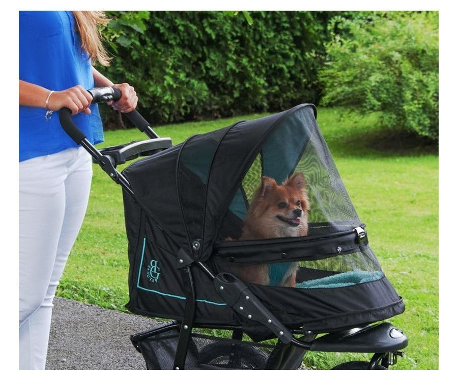 NV No Zip Jogging Pet Stroller by Pet Gear Free Bolster