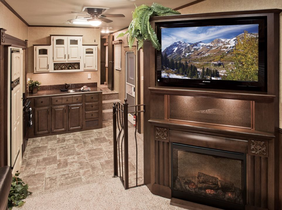Shipshewana ind based kzrv lp introduced the company s - 5th wheel campers with 2 bedrooms ...