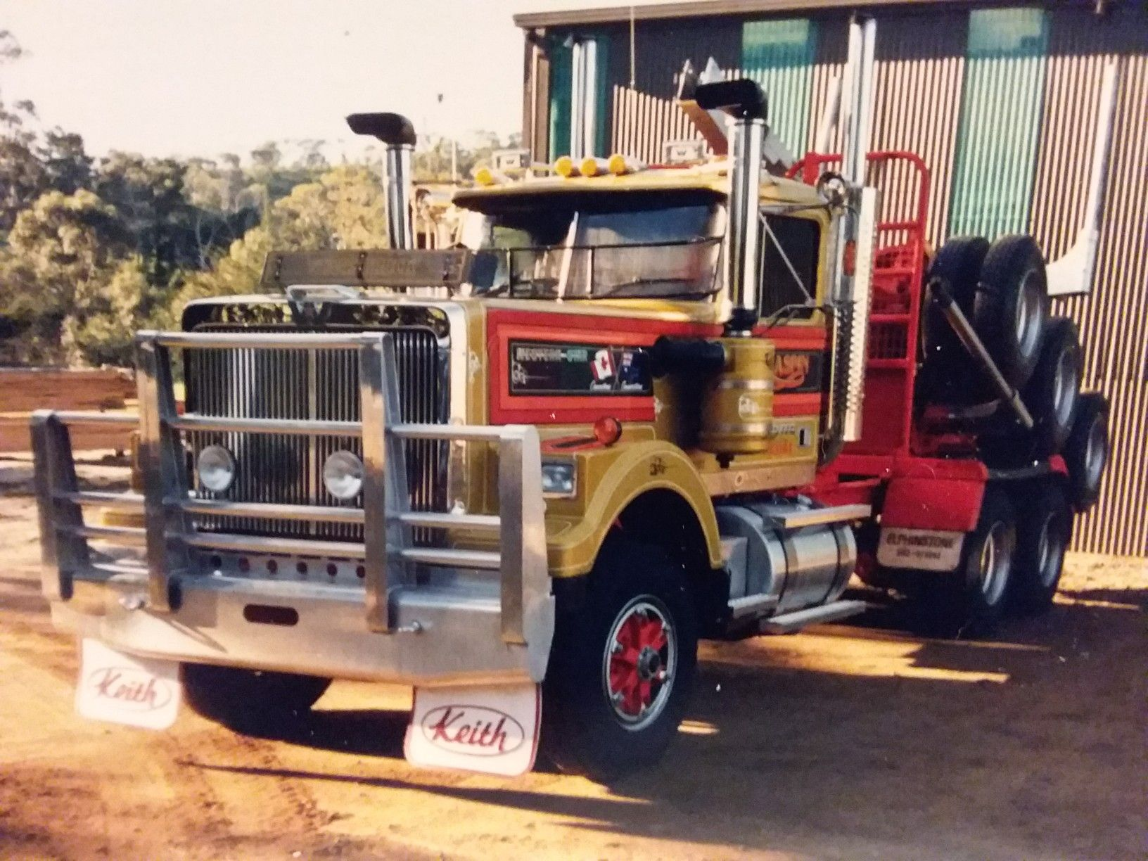 Pin By Ricardo Costell On Log Trucks White Truck Heavy Duty Trucks Motor Truck