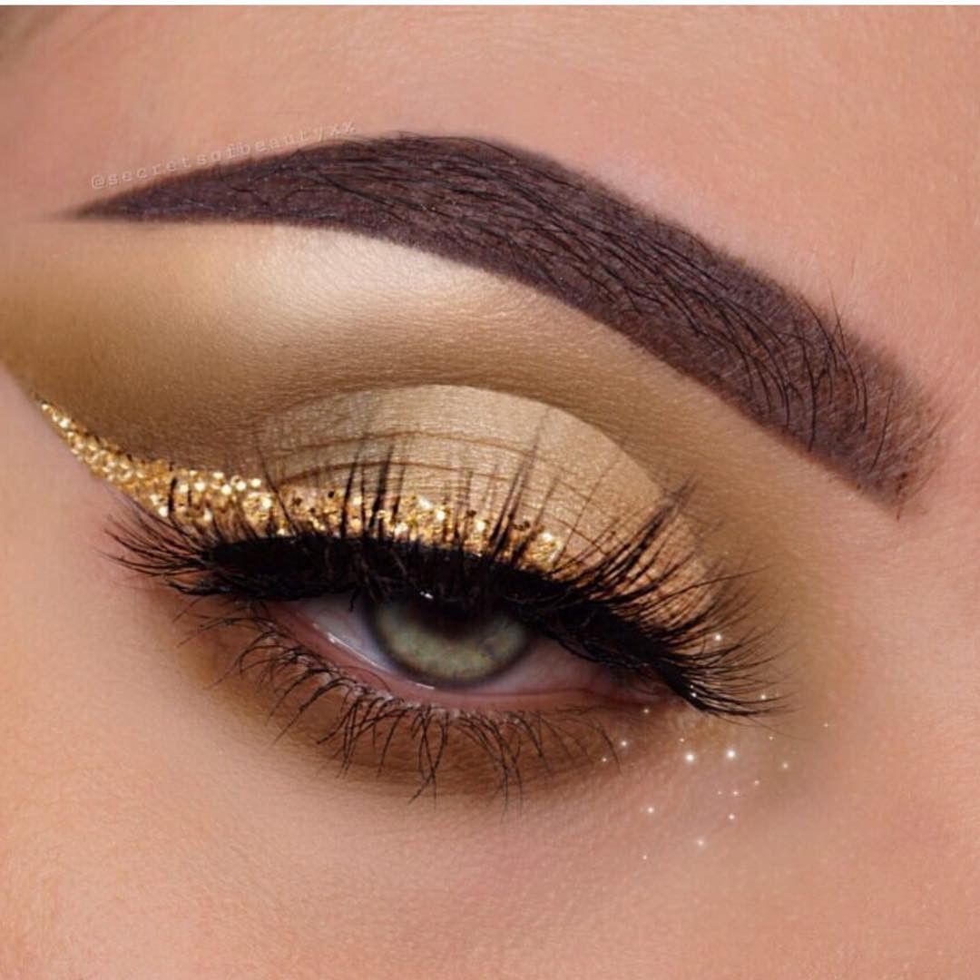 Photo of 52 Best Gold Eye Makeup Looks and Tutorials