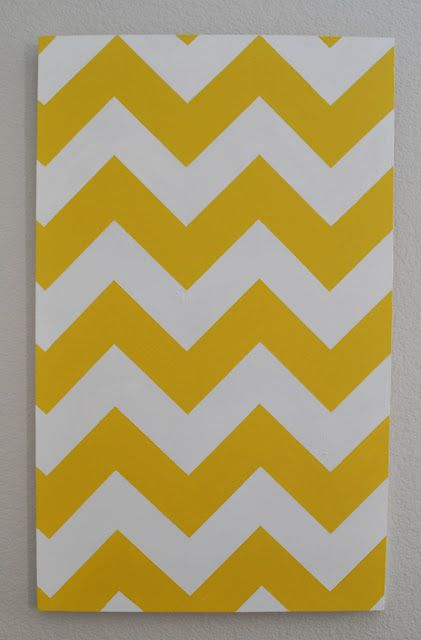 DIY chevron Wall art | For the Home | Pinterest | Walls, Craft and ...