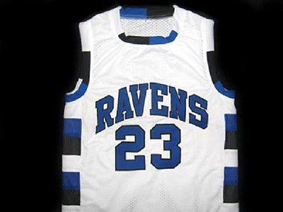 99a81691d NATHAN SCOTT  23 ONE TREE HILL RAVENS BASKETBALL JERSEY WHITE - ANY SIZE