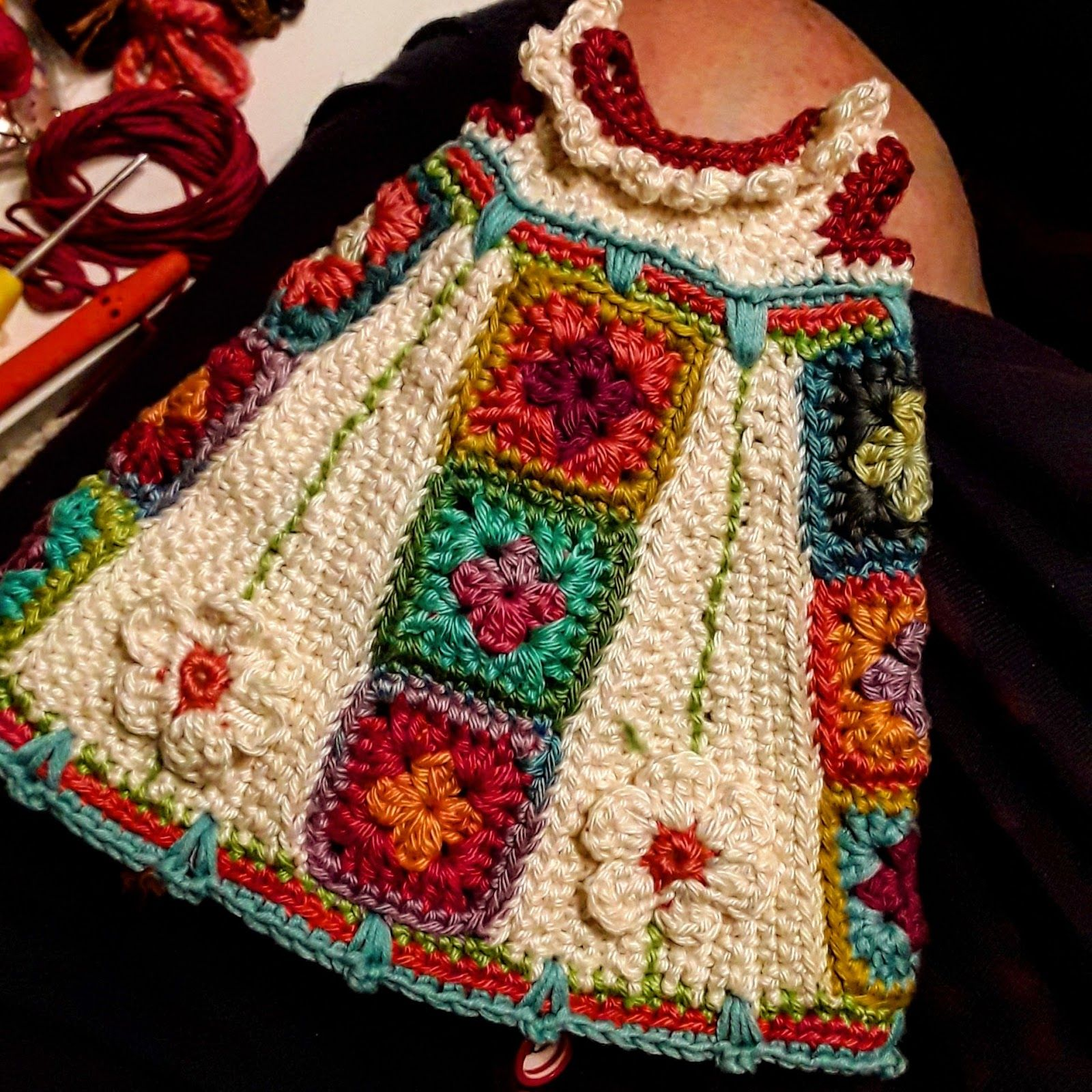 Berta A.Vergara Santos/katxirula.blogspot.com | tejido | Pinterest ...