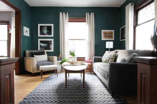 My Dark Teal Living Room Deuce Cities Henhouse Teal Living Rooms Dark Teal Living Room White Living Room Paint Colors