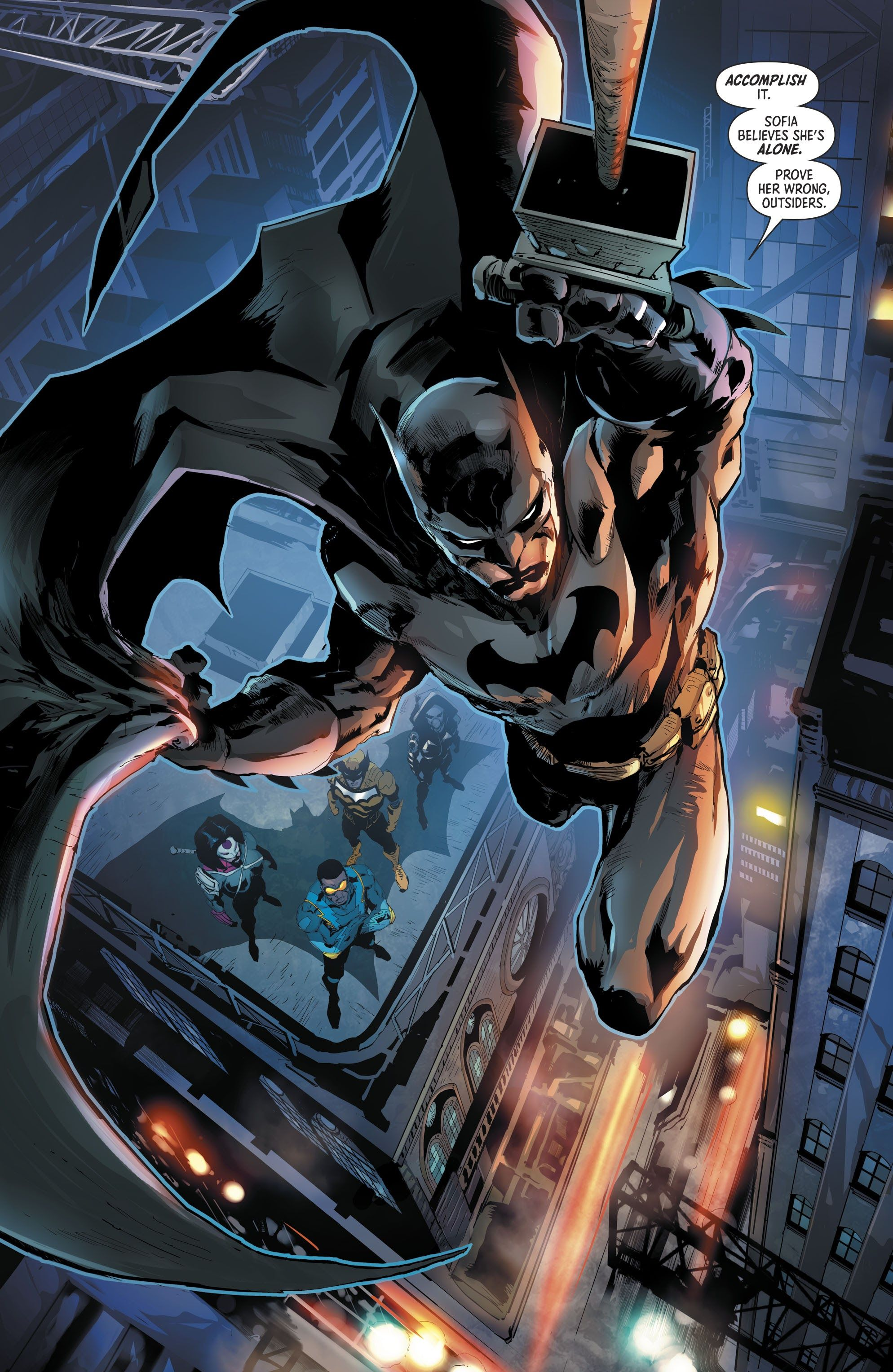 Batman The Outsiders Issue 1 Read Batman The Outsiders Issue 1 Comic Online In High Quality Batman Joker Wallpaper Superhero Comic Dc Comics Artwork