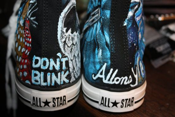 575361756702 Doctor Who Converse High-Top Shoes