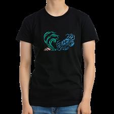 Blue Crab Graphic Design T-Shirt