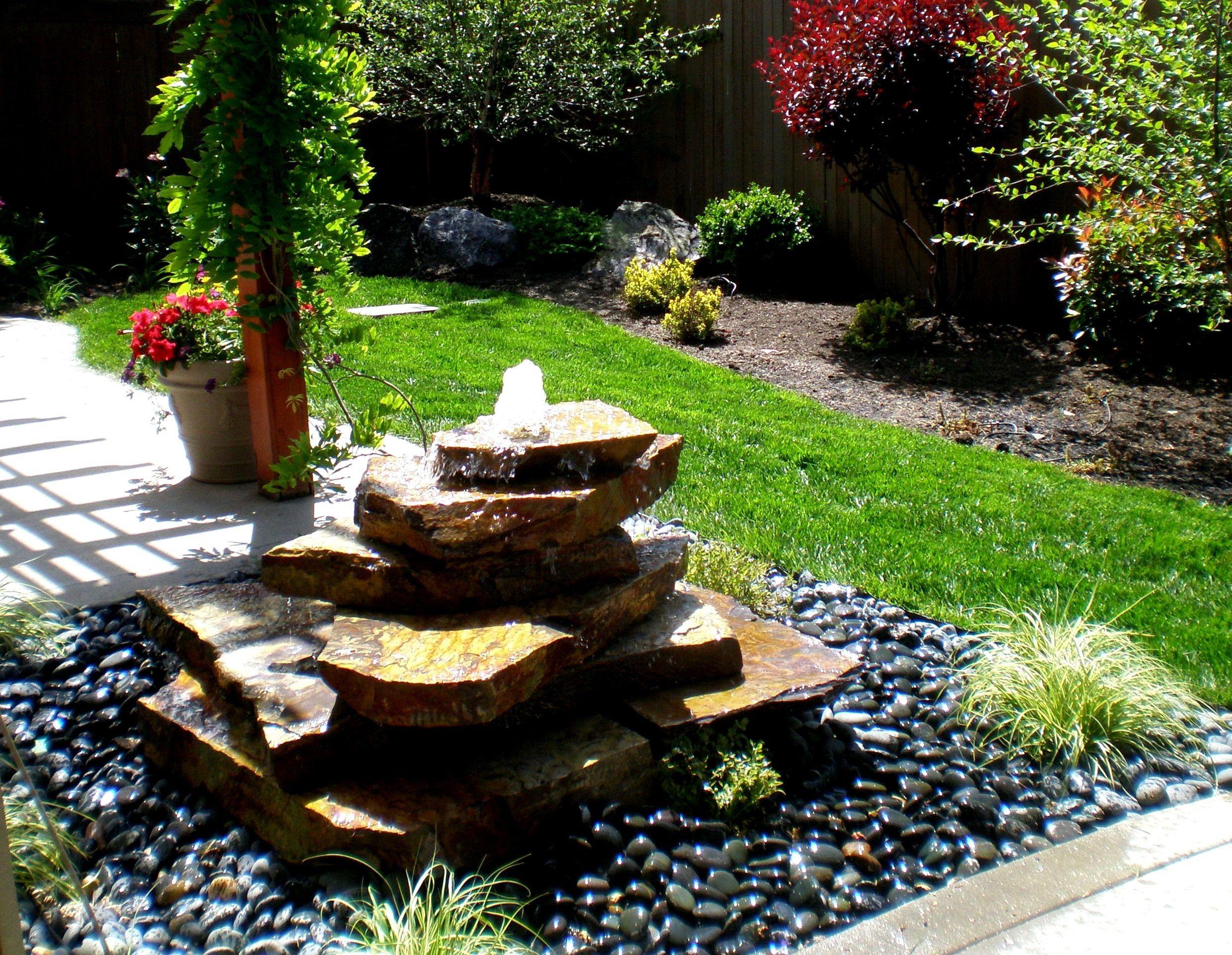 Artistic Garden Fountain Ideas Solar Water Fountain Ideas Outdoor Throughout Garden Water Fountains Ideas Water Fountains Outdoor Garden Water Fountains Backyard Water Fountains