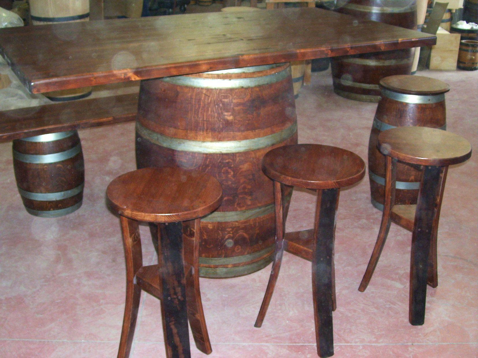 Tavolo da birreria e osteria da metri con panca a c