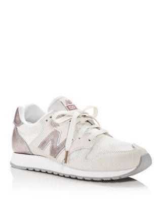 New Balance Women's 520 Lace Up Sneakers In Sea Salt ...