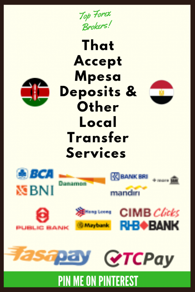 Top Forex Brokers That Accept Mpesa
