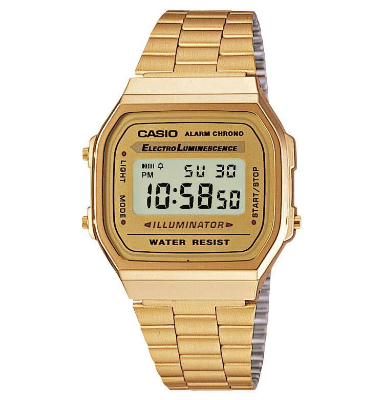 Casio Uhr Gold Schwarz Damen Casio Uhr Casio Gold Retro Uhren