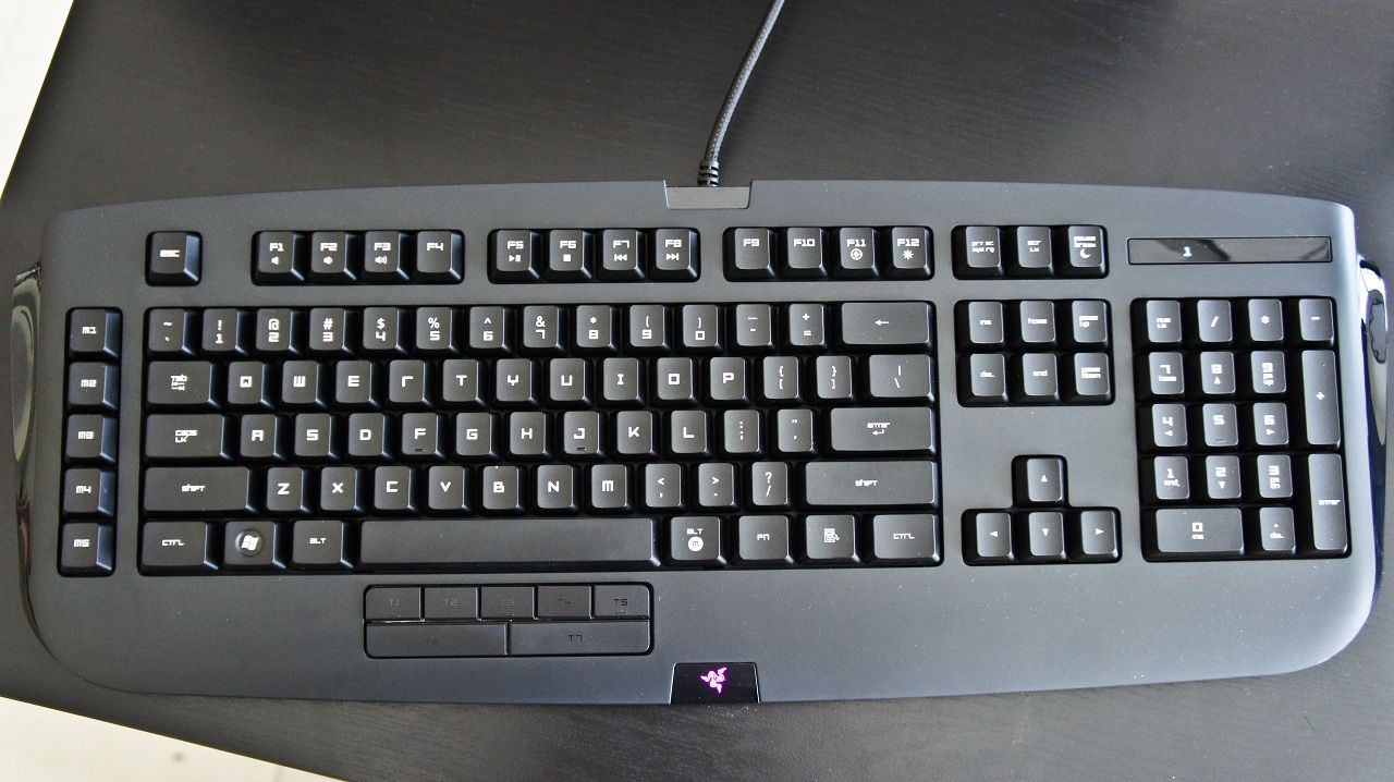 e7de636324b Razer Anansi MMO Keyboard. $149.00. I have this. Cybermind Sitex Expo 2013.  07/09/2013.