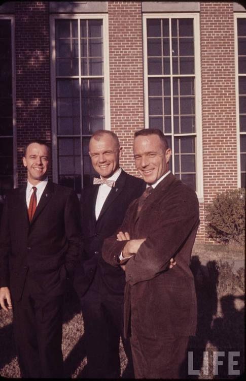 Alan B. Shepard, John Glenn and Scott Carpenter - LIFE magazine