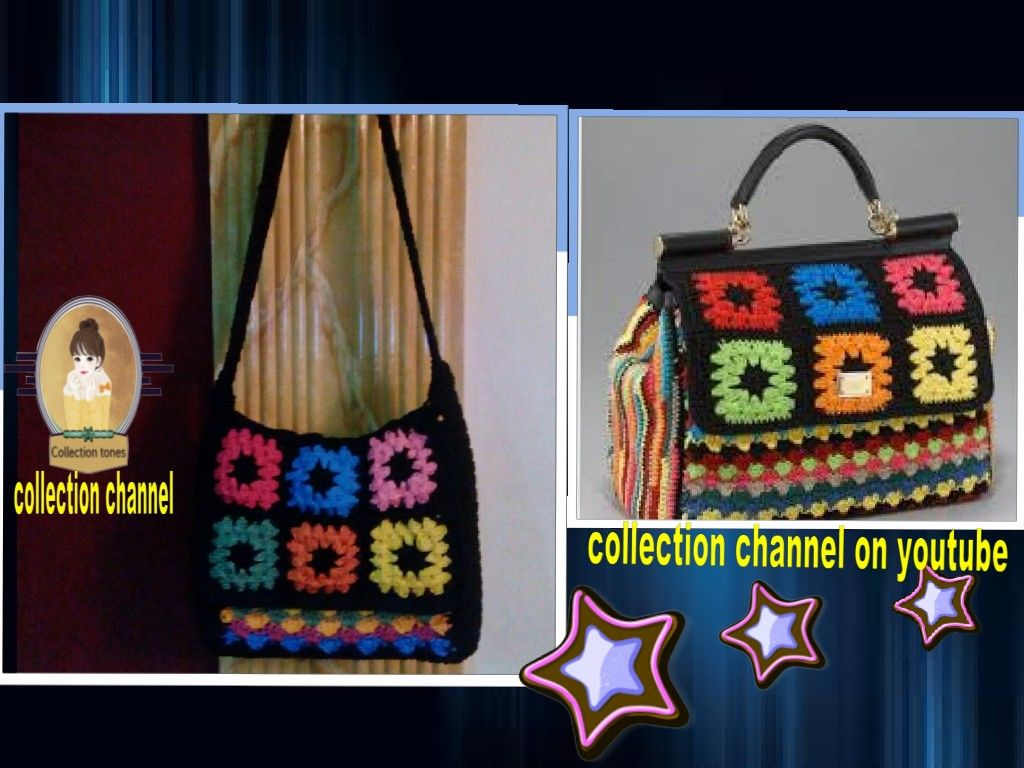 كروشيه شنطه بموديل مشهور خطوه بخطوه Crochet Handbag Tutorial Step By Step Leather Handbags Diy Handbag Sewing Patterns Handmade Handbags